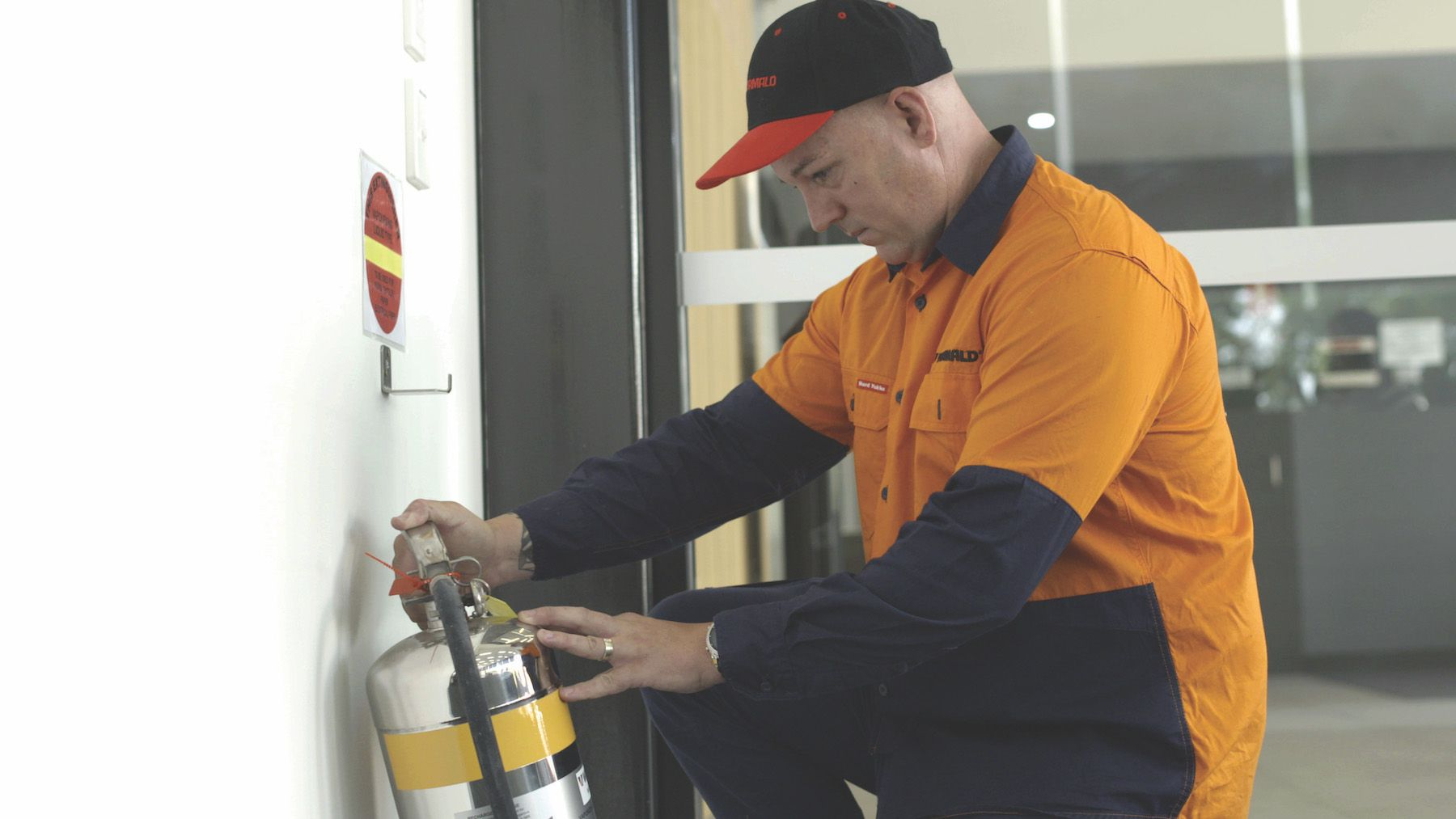 A day in the life of a Wormald technician: Introducing Grant Thompson, Portable Fire Equipment Tester