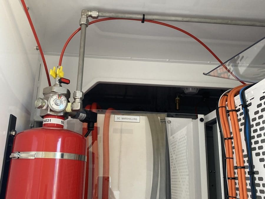 PowerTec installs Wormald fire suppression systems in power grid stabilisers and electric vehicle charging stations